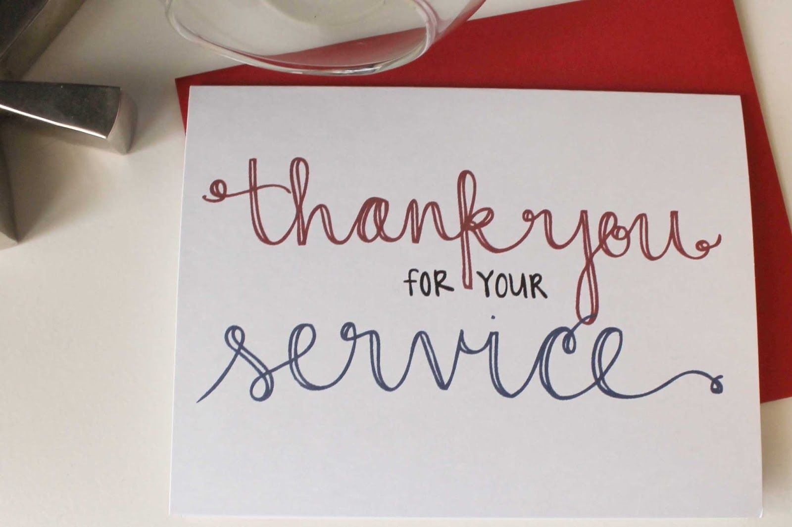 Send A Thank You Card To Our Troops   School   Veterans Day Gifts - Military Thank You Cards Free Printable