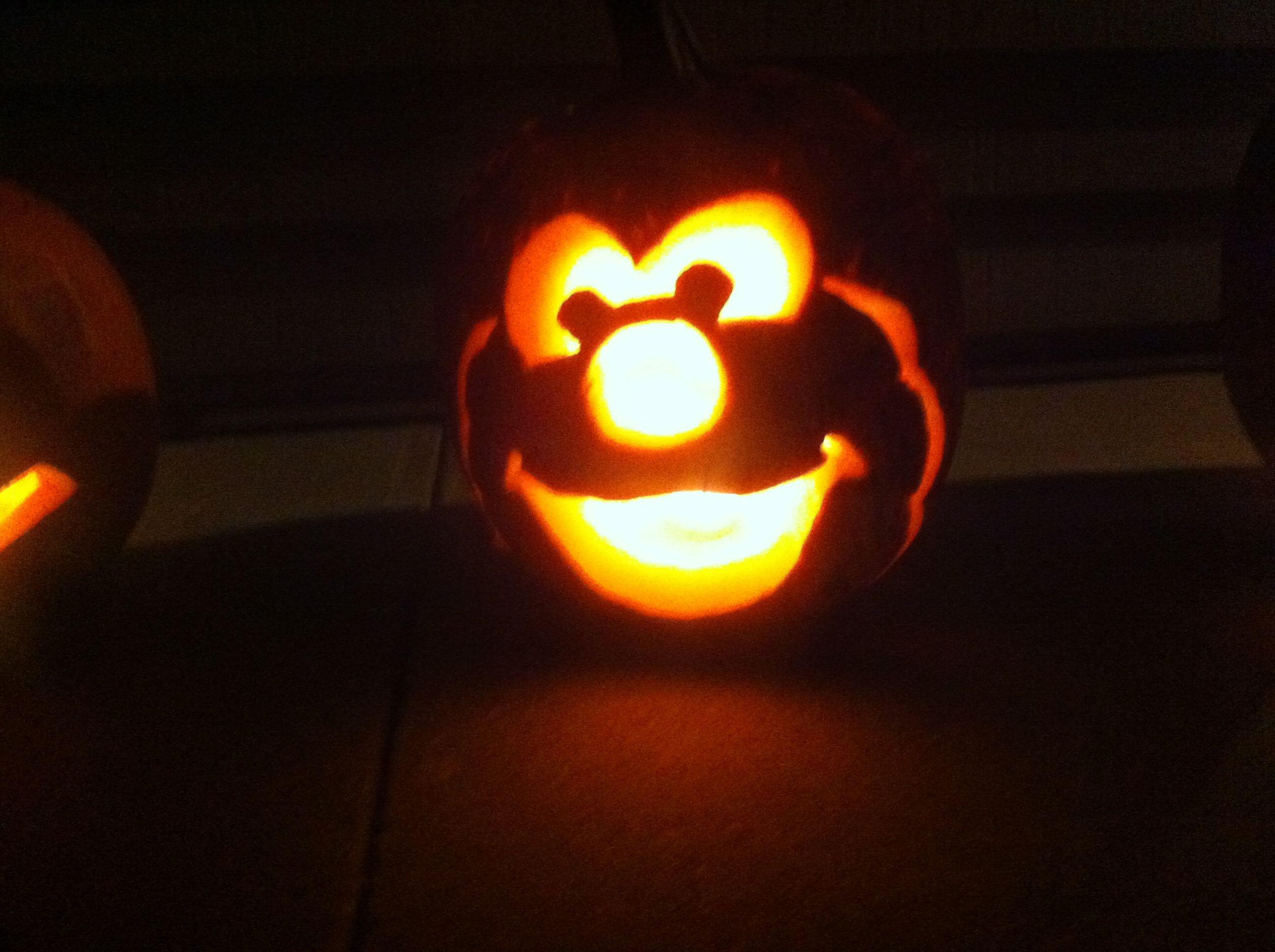Sesame Street Elmo Halloween Pumpkin Free Hand Carving | Holiday - Free Elmo Pumpkin Pattern Printable