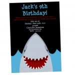 Shark Birthday Invitations   Anarchistshemale   Shark Invitations Free Printable