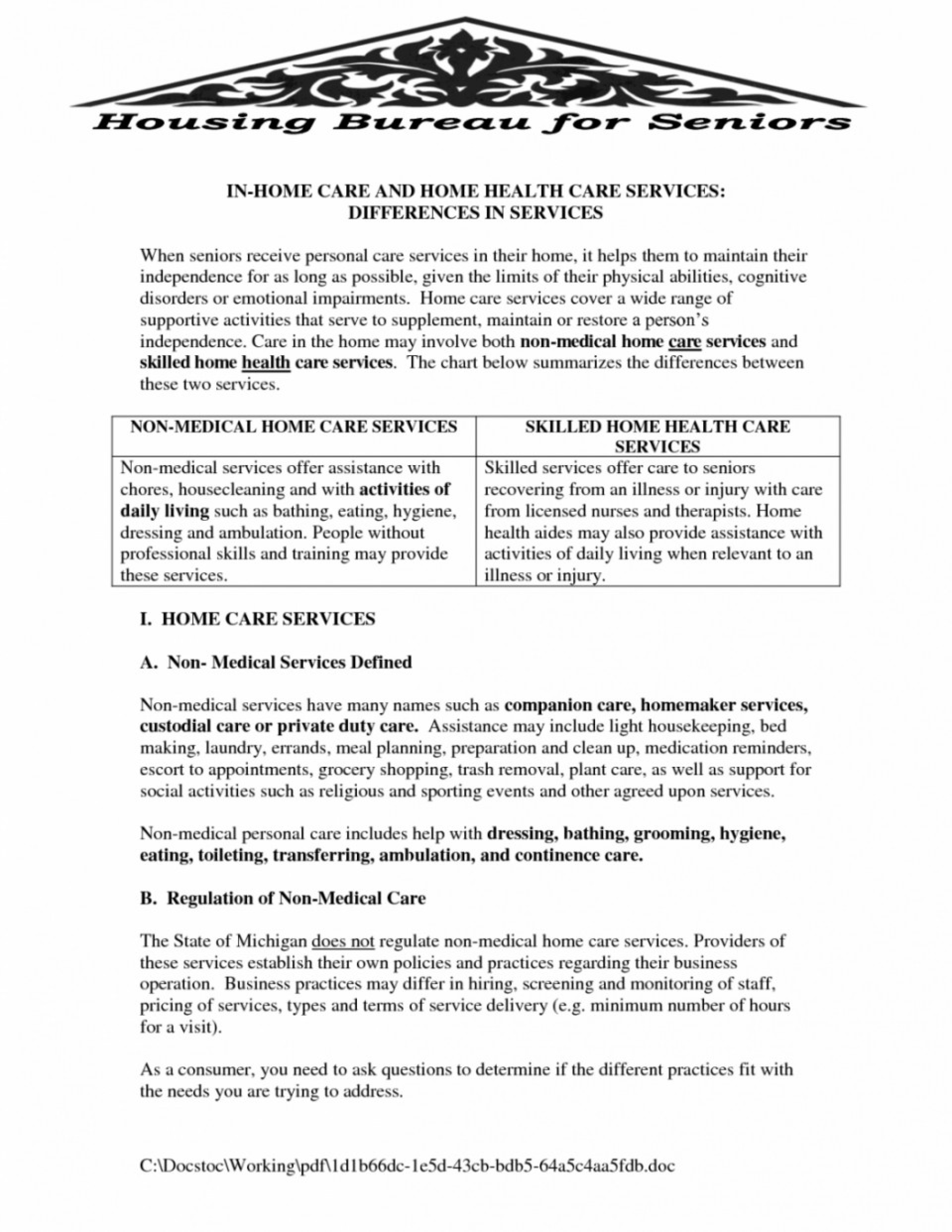 Shocking Home Health Care Plan Template ~ Tinypetition - Free Printable Inservices For Home Health Aides