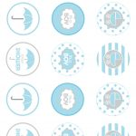 Showered From Above Rain Boy Baby Shower Printables Planning Ideas   Free Printable Boy Baby Shower Photo Booth Props