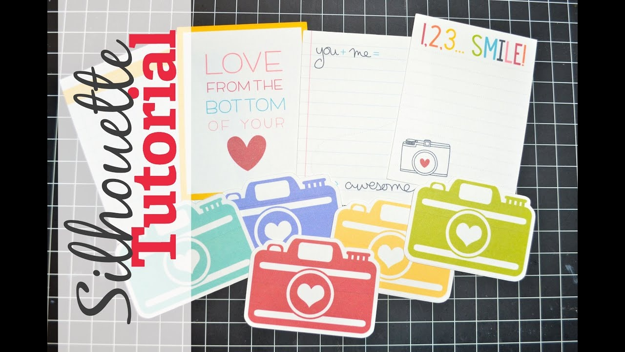 Silhouette Sunday - Cutting Free Printables With Your Silhouette - Free Printable Smile Your On Camera