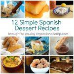 Simple Spanish Dessert Recipes   Free Printable Dessert Recipes