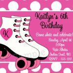 Skate Party Invitation Template. Party Invitations Free Printable   Free Printable Skateboard Birthday Party Invitations