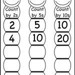 Skip Counting2, 5 And 10 – Worksheet / Free Printable Worksheets   Free Printable Skip Counting Worksheets