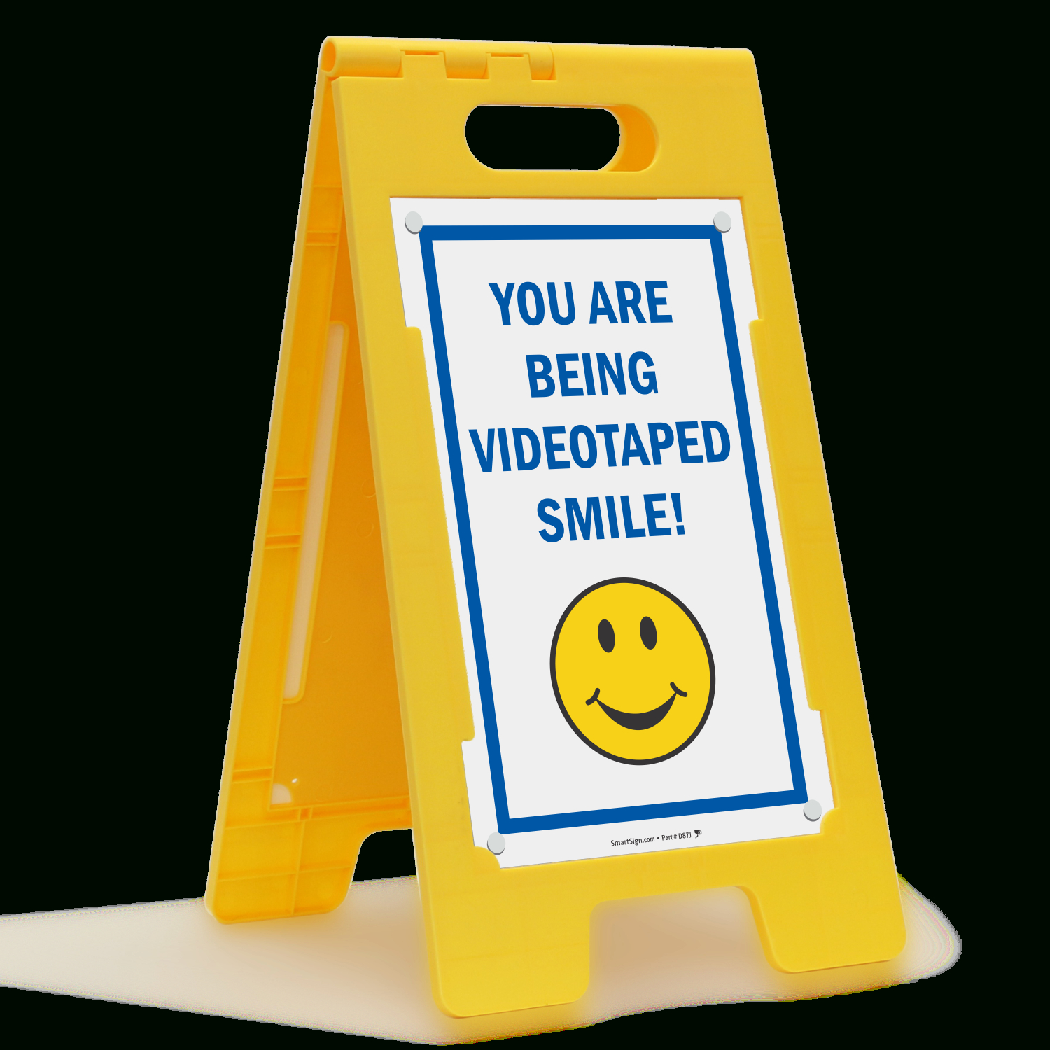 Smile You're On Camera Signs - You Are Being Video Taped - Free Printable Smile Your On Camera Sign