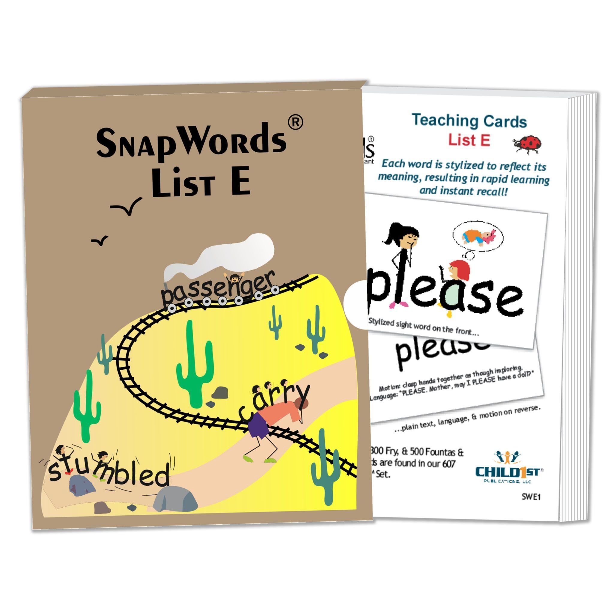 Snapwords® List E Teaching Cards | Products | Teaching, Cards, Sight - Free Printable Snapwords