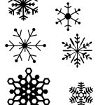 Snowflake Patterns (For Hot Glue Gun Snowflakes) I Think I Will Be   Free Printable Snowflake Patterns