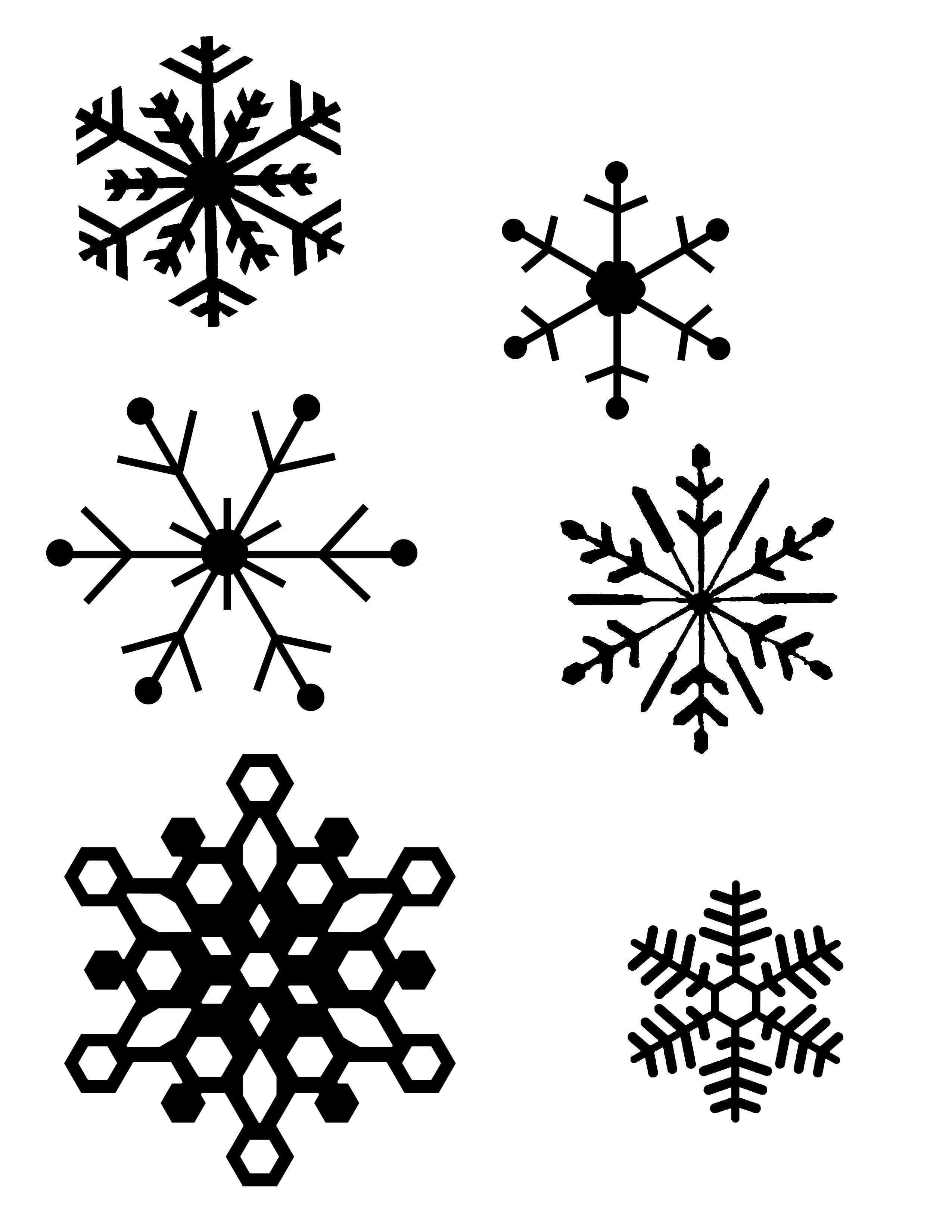 Snowflake Patterns (For Hot Glue Gun Snowflakes) I Think I Will Be - Free Printable Snowflake Patterns
