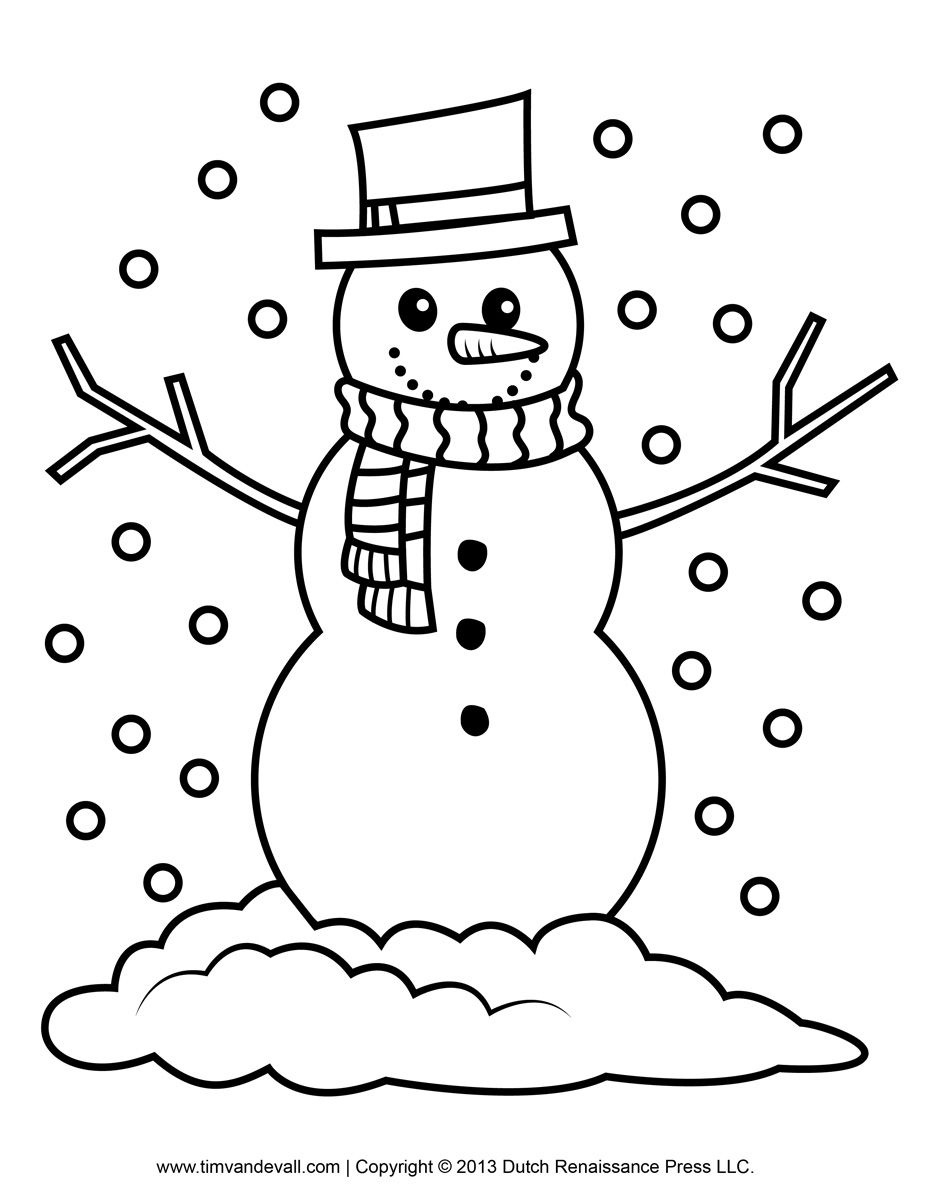 Snowman Pictures To Color | To Color They May Enjoy This Printable - Free Printable Snowman Patterns