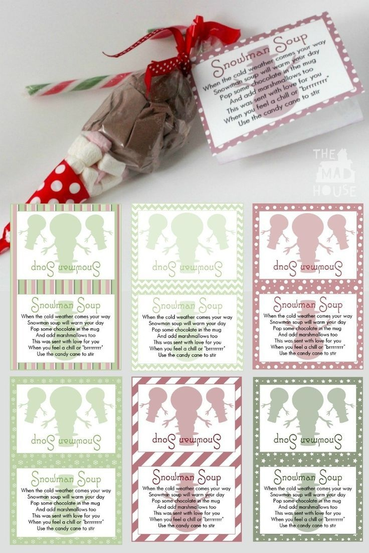 Snowman Soup And Free Printable Labels   Christmas   Snowman Soup - Snowman Soup Free Printable