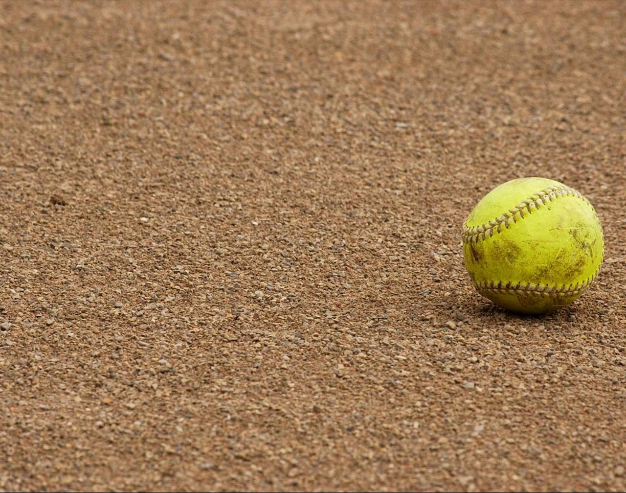Softball Free Ppt Backgrounds For Your Powerpoint Templates - Free Printable Softball Images