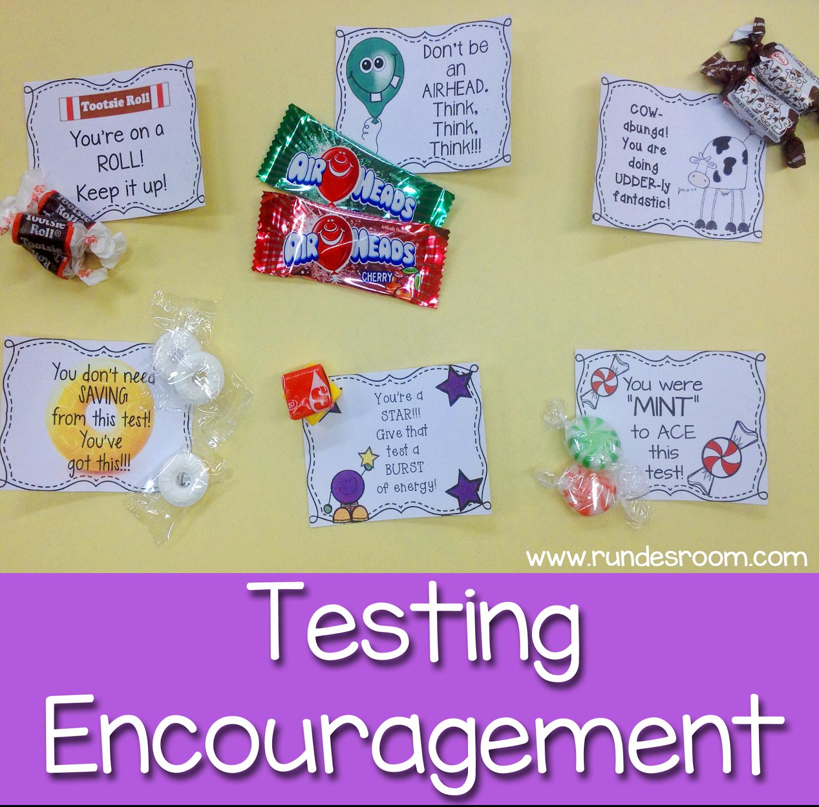 Some Sweet Testing Encouragement   School   Staar Test, Test Anxiety - Free Printable Testing Signs