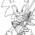 Sonic Coloring Pages Online For Free   Coloring Home   Sonic Coloring Pages Free Printable