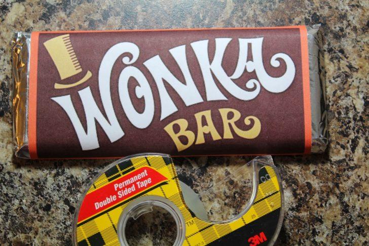 Free Printable Wonka Bar Wrapper Template
