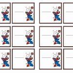 Spiderman Name Tags – Birthday Printable | Spiderman | Birthday Tags   Superhero Name Tags Free Printable