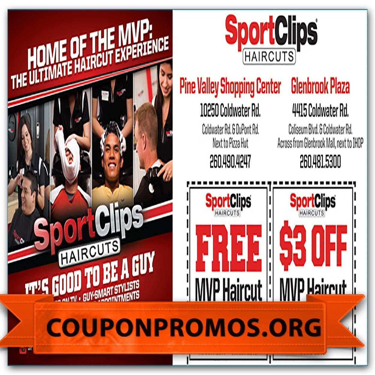 Sports Clips Coupon Printable For December | Sample Coupons For - Great Clips Free Coupons Printable