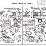 Spot The Difference Worksheets For Kids | Kids Worksheets Printable   Free Printable Spot The Difference Games For Adults
