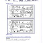 Spot The Differences Worksheet   Free Esl Printable Worksheets Made   Free Printable Spot The Difference Games For Adults