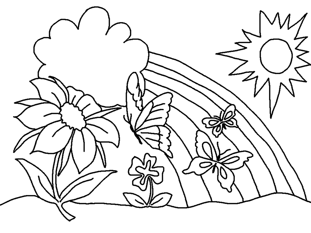 Spring Coloring Pages - Best Coloring Pages For Kids - Spring Coloring Sheets Free Printable