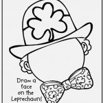 St Patricks Day Coloring Pages Photographs Free Printable St Patrick   Free Printable St Patrick Day Coloring Pages