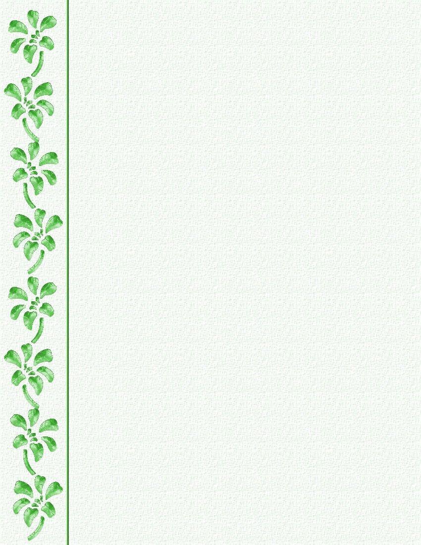 St Patrick's Day Stationery   St Patrick's Daystationery Tempate - Free Printable St Patricks Day Stationery