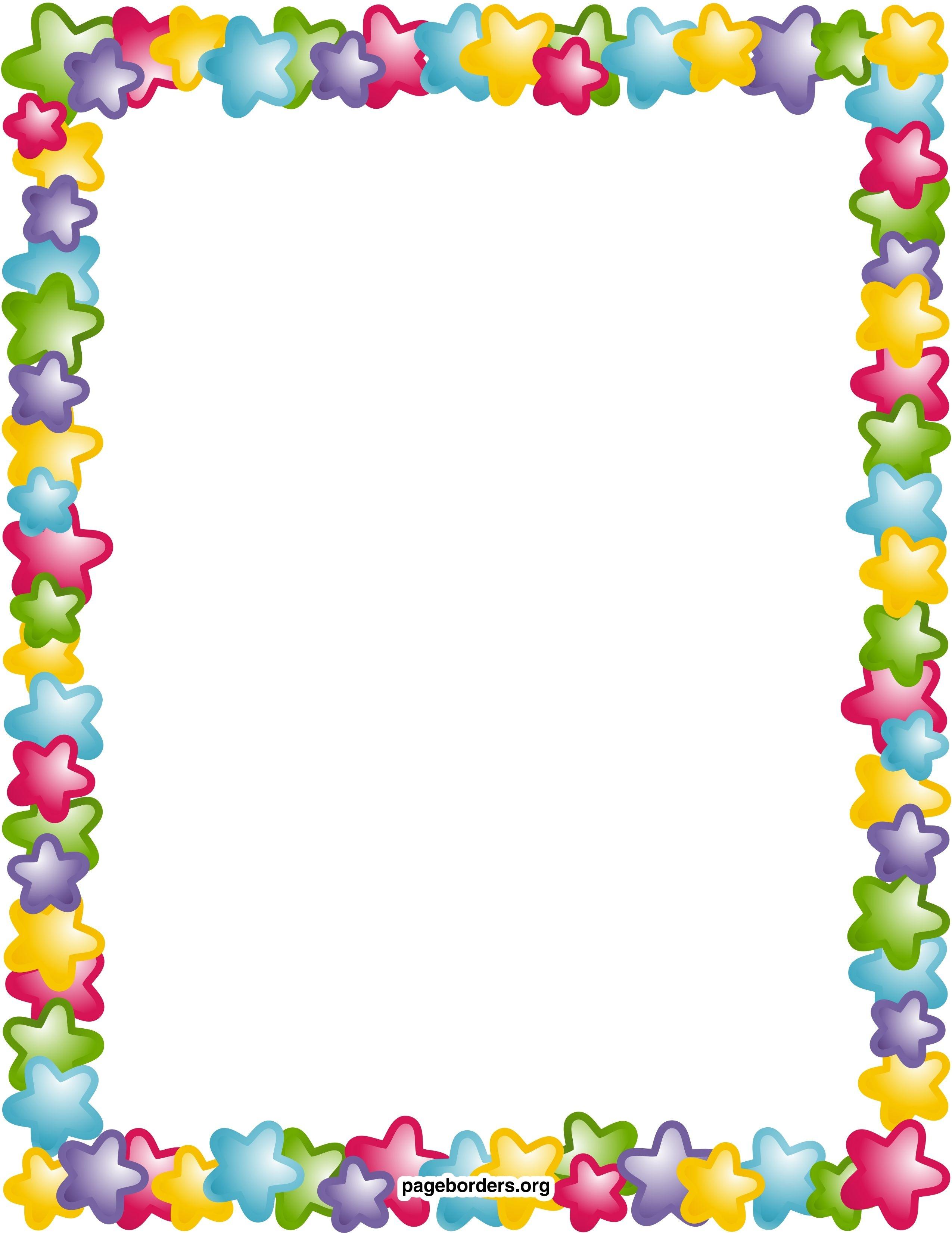 Star Border Clip Art Clipart Panda Free Clipart Images | Printable - Writing Borders Free Printable