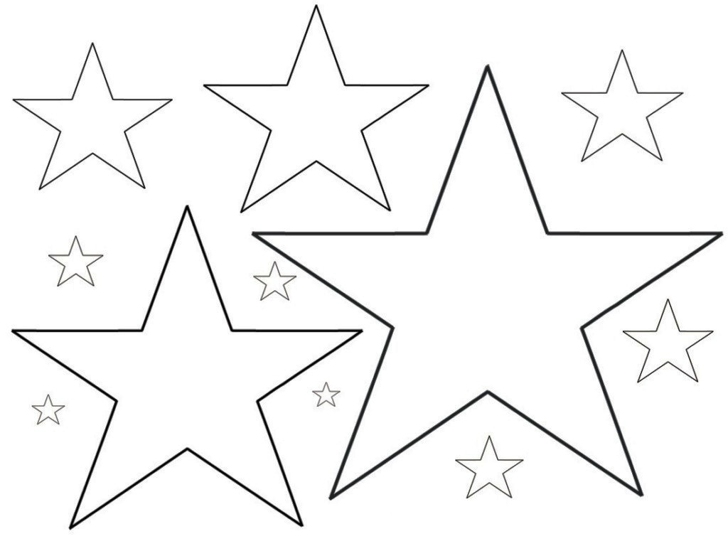 Star Coloring Page - Tremendous Stars Coloring Page Star Pages Free - Free Printable Stars