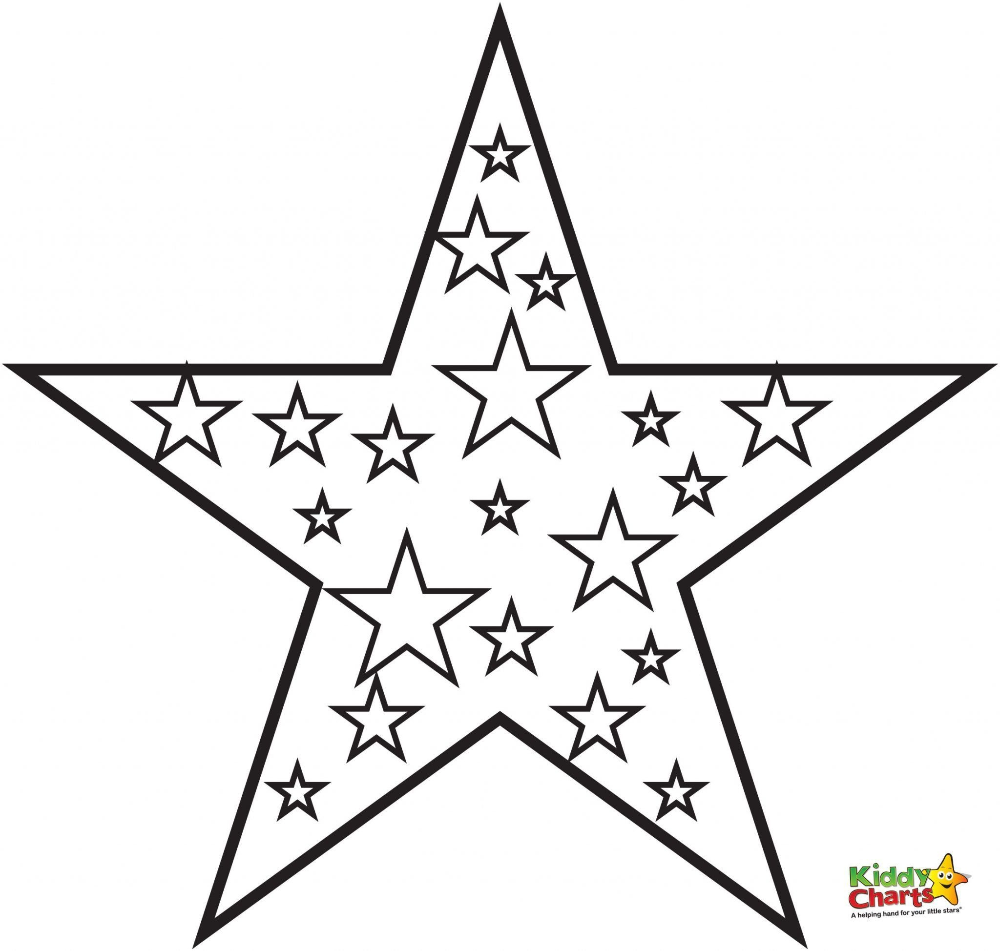 Star Coloring Pages | Froth | Star Coloring Pages, Coloring Pages - Free Printable Christmas Star Coloring Pages