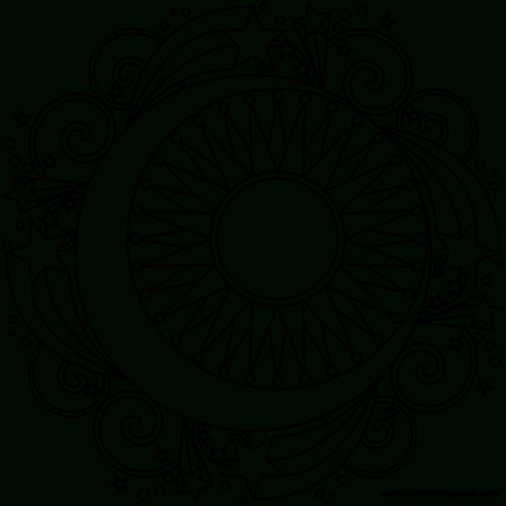 Star Mandala To Color Mandala Mandala Coloring And Free Printable - Free Printable Mandala Coloring Pages
