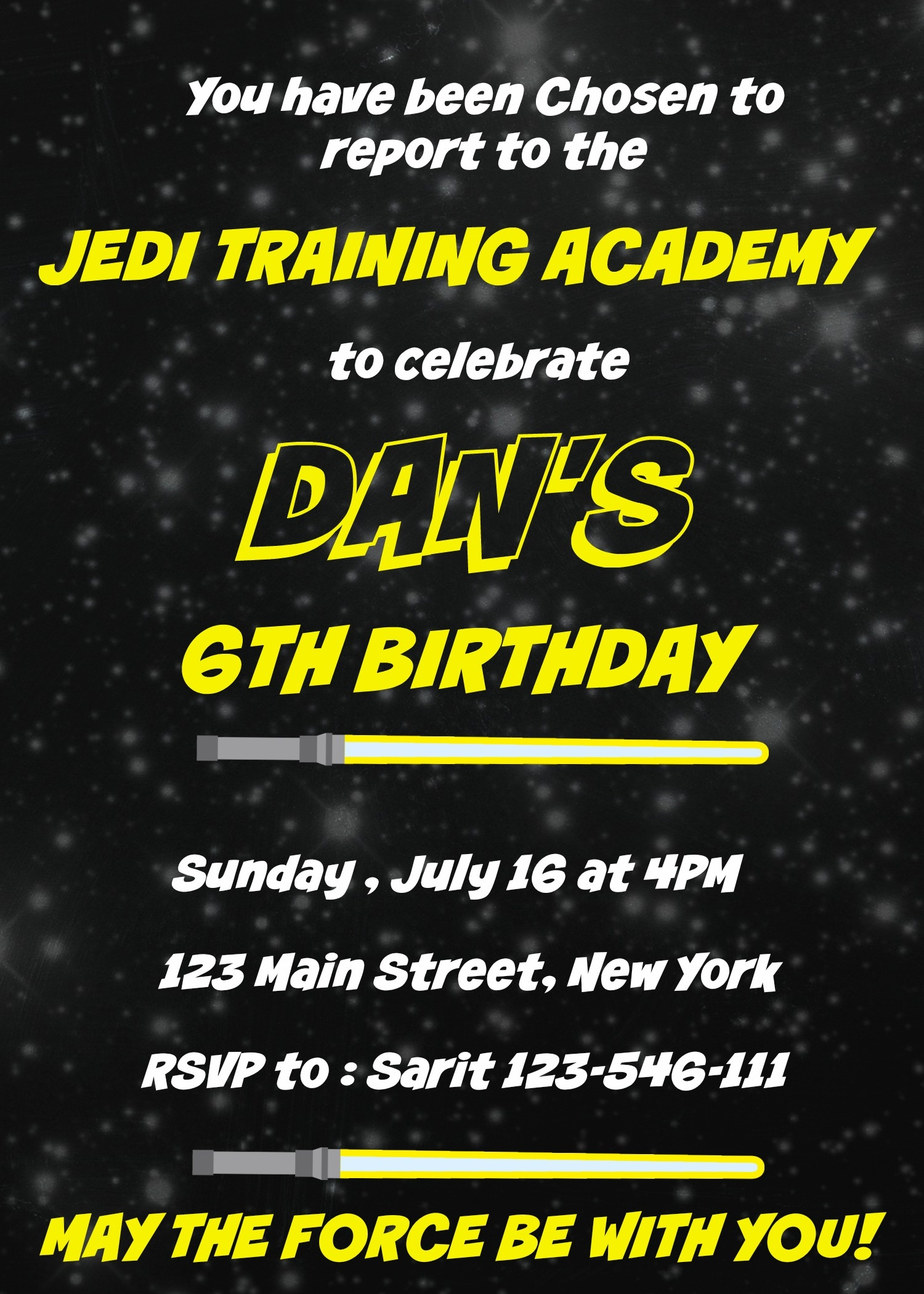 Star Wars Birthday Party Ideas - My Practical Birthday Guide - Free Printable Star Wars Baby Shower Invites