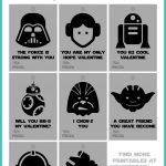 Star Wars Valentines Printables Free Download | Wonderbash   Free Printable Lego Star Wars Valentines