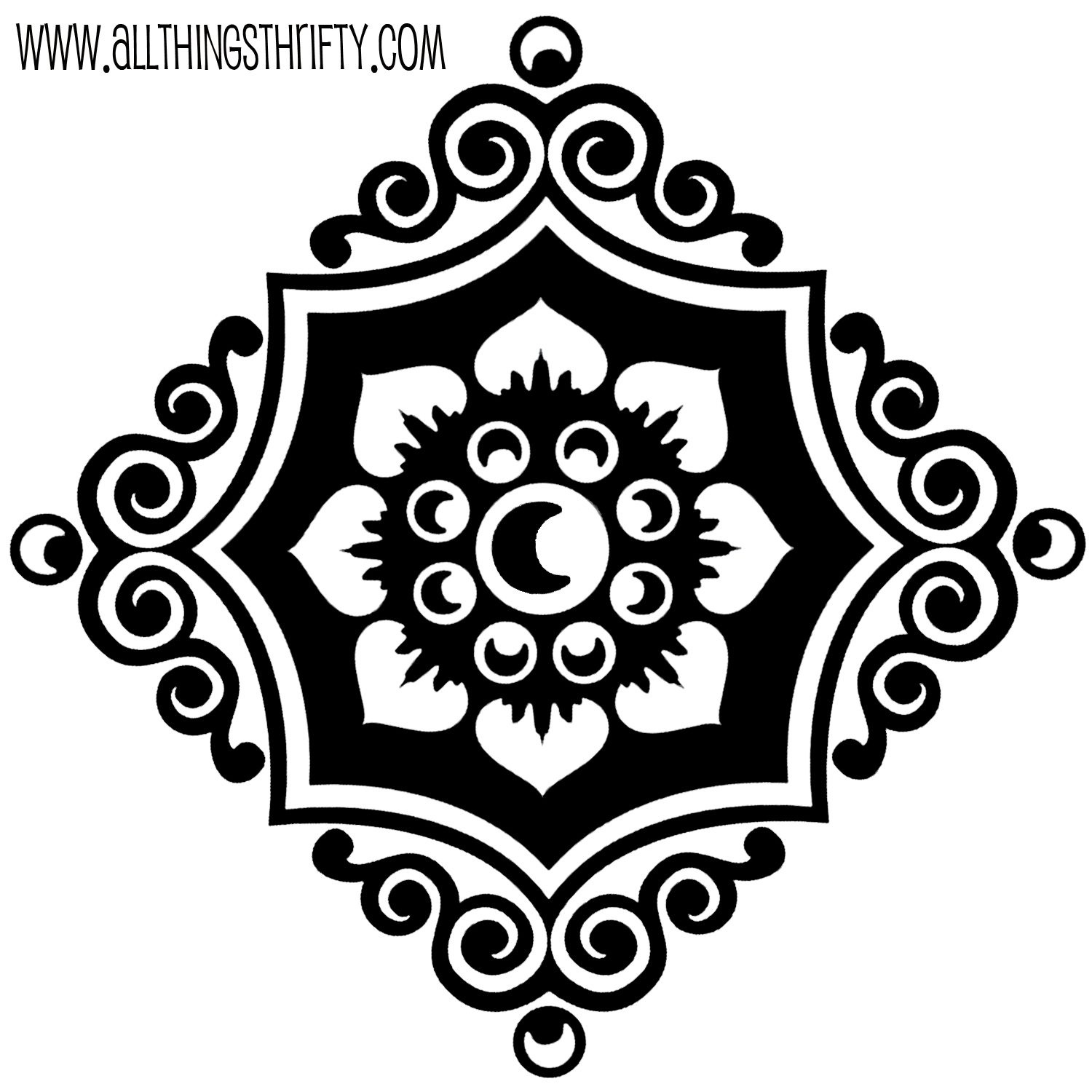 Stencil Patterns Just For You! | Craft Ideas To Keep Us Creative - Free Printable Stencil Designs