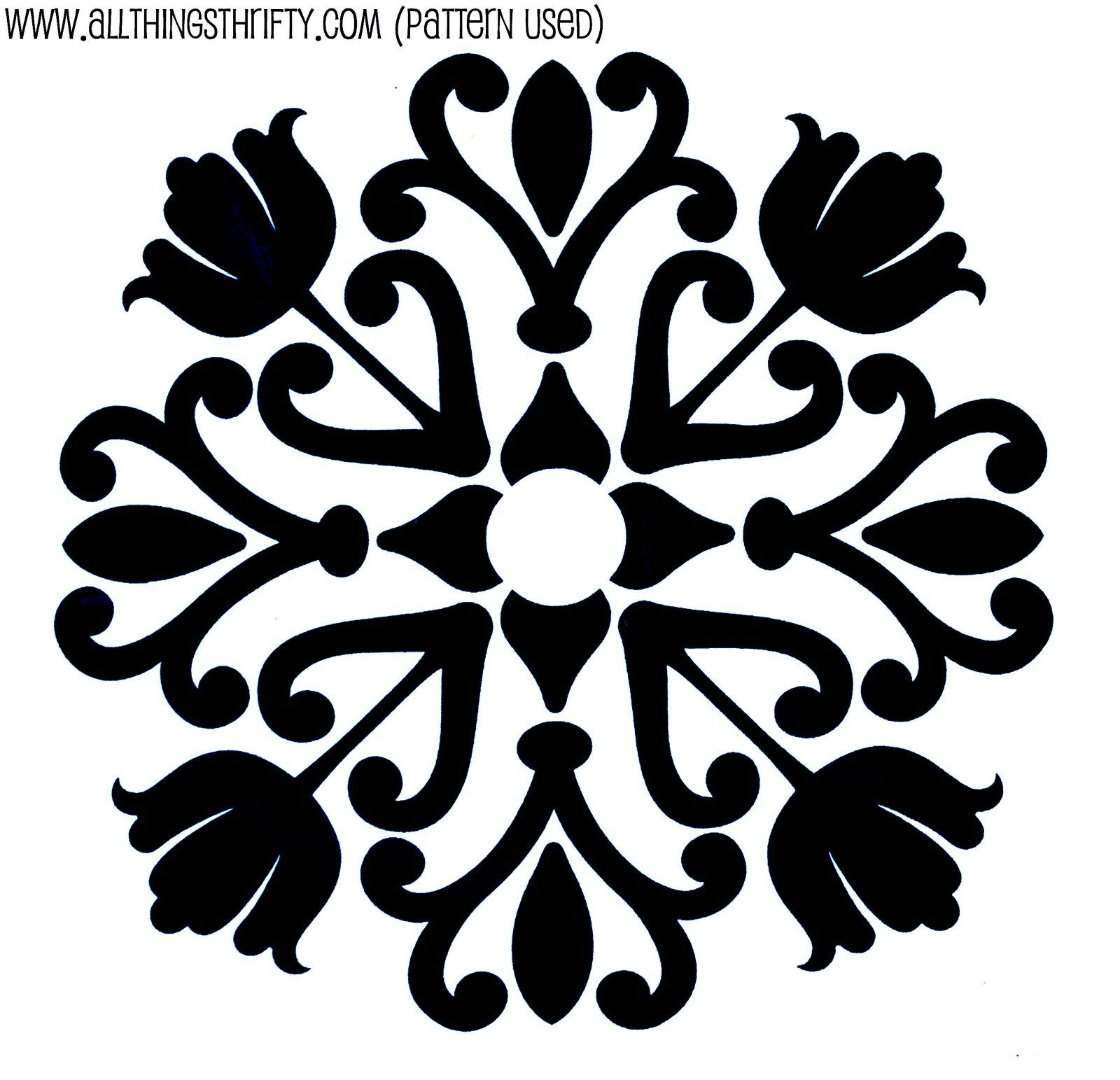 Stencil Patterns Just For You!   Share Your Craft   Stencil Designs - Free Printable Wall Stencils For Painting