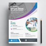 Stylish Printable Business Flyer 002412 | Flyers | Corporate   Business Flyer Templates Free Printable