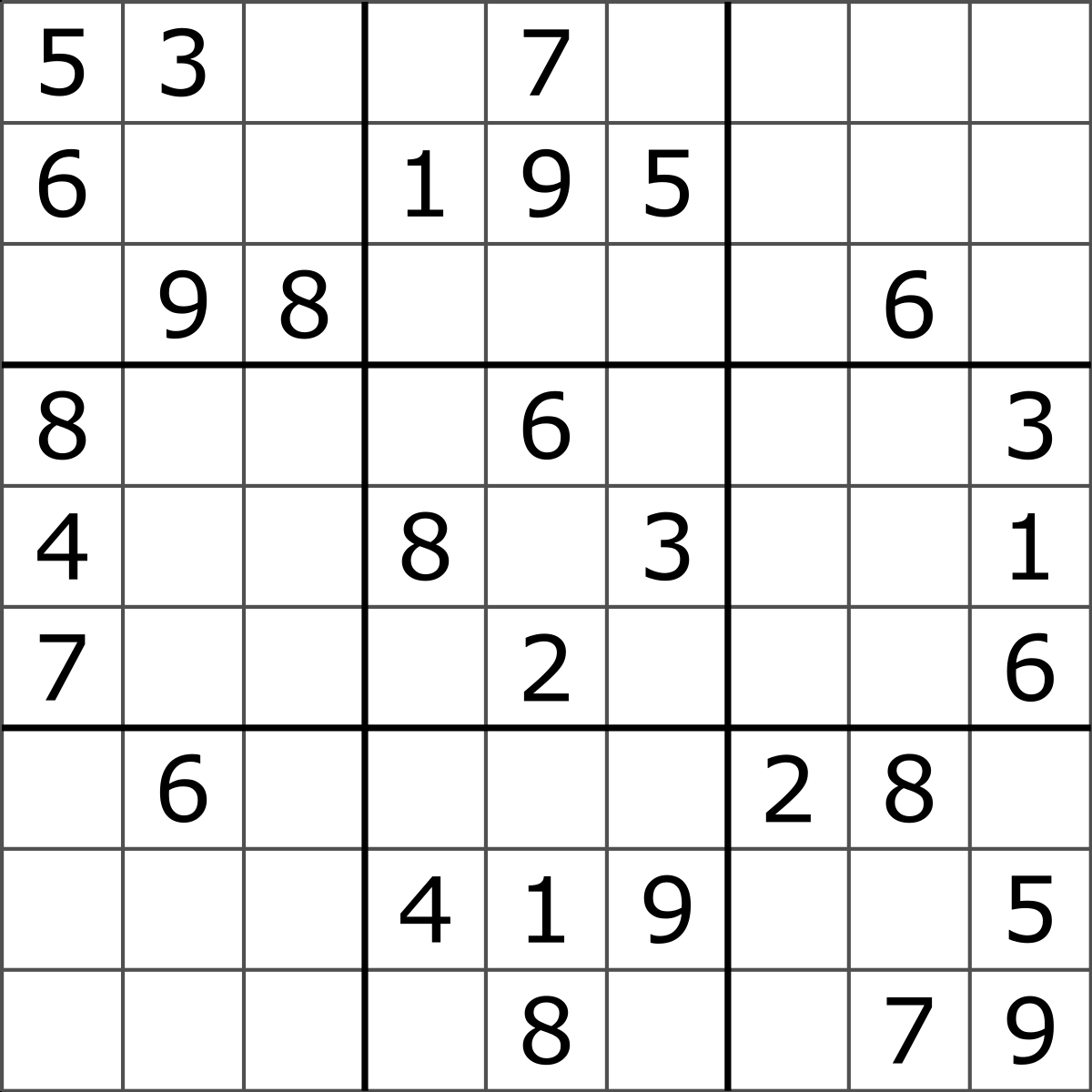 Sudoku - Wikipedia - Free Printable Sudoku 4 Per Page