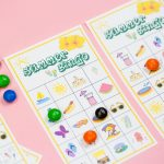 Summer Bingo Game With Free Printables   Free Printable Summer Games