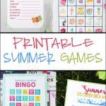 Summer Word Scramble | Crafting Chicks Community Board | Reading   Free Printable Summer Games