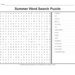 Summer Worksheets: Summer Word Search Puzzle   Primarygames   Play   Free Printable Summer Puzzles