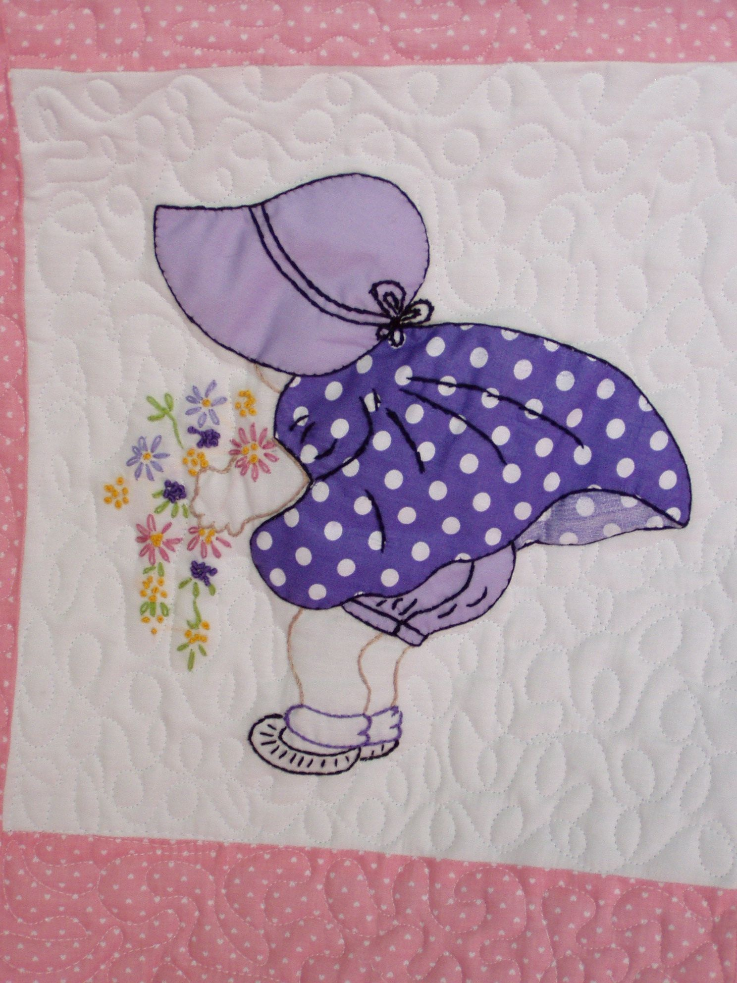 Sun Bonnet Sue Quilt Patterns Free - Bing Images | Quilts And Sewing - Free Printable Dutch Girl Quilt Pattern