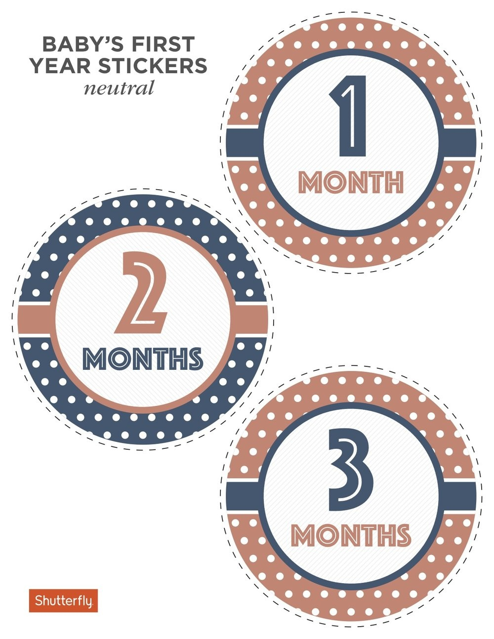Super Cute And Free Printable Animal Themed Baby Monthly Milestone - Free Printable Baby Month Stickers