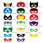 Superhero Mask Template | Free Download Best Superhero Mask Template   Free Printable Superhero Photo Booth Props