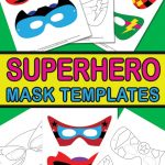 Superhero Mask Template   Itsy Bitsy Fun   Free Printable Superhero Masks