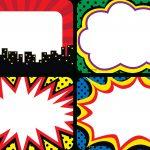 Superhero Name Tags/labels   Multi Pack | Name Tags And Labels   Superhero Name Tags Free Printable