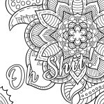 Swear Word Coloring Book #2 Free Printable Coloring Pages For Adults   Free Printable Coloring Pages For Adults Swear Words