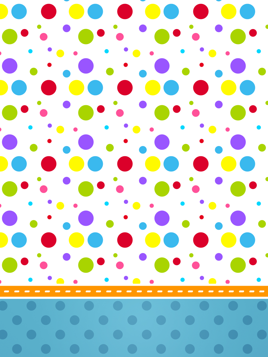 Sweet 16 Colored Dots: Free Printable Candy Bar Labels. | Oh My - Free Printable Sweet 16 Labels