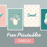 Sweet Baby Wall Decor   Free Printable   Belivindesign   Free Printable Decor