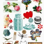 Sweetly Scrapped: Free Digital Collage Sheet   Free Printable Picture Collage