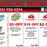 Take Advantage Of Our Fabulous Coupons | Fabulous Freddy's | (702   Free Printable Las Vegas Coupons 2014