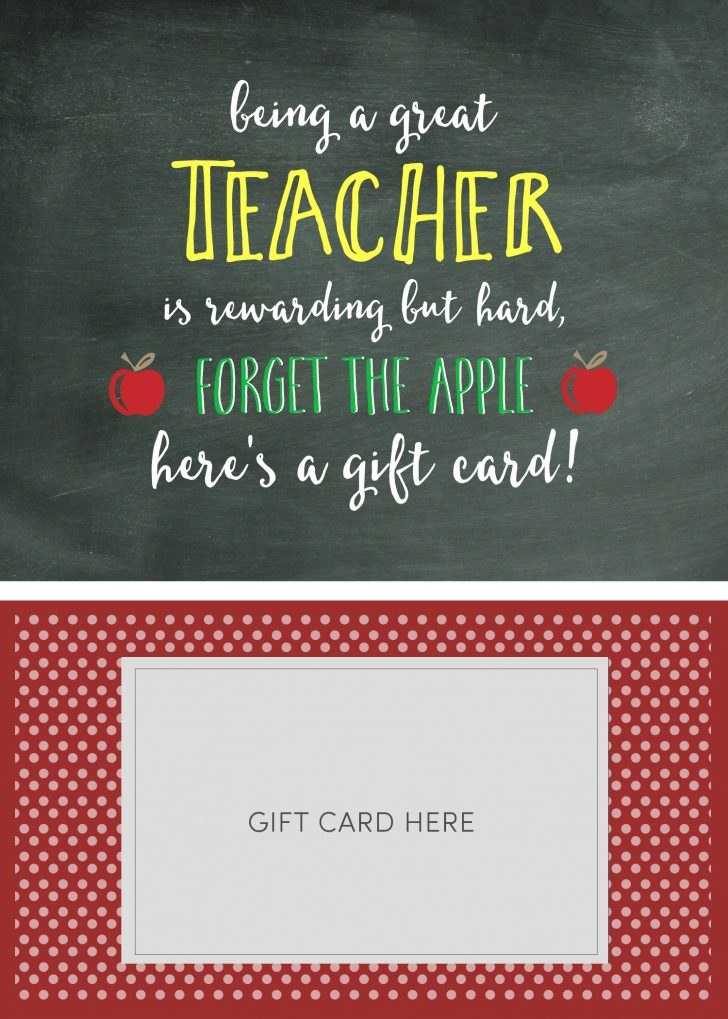 Free Printable Teacher Appreciation Greeting Cards